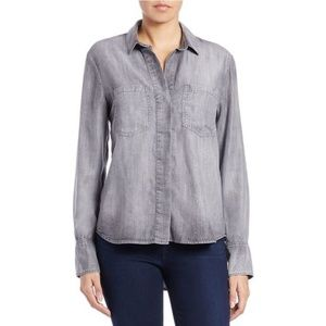 Cloth & Stone Gray Chambray Button Down